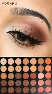 mode simple eye makeup tips for