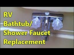 rv shower faucet repair replacement