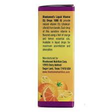 bluebonnet nutrition liquid vitamin d3