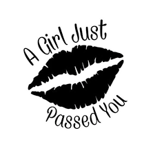 10 9cm 11 4cm Car Decal Sticker Lady S Girl Women Mouths Funny Car Stickers Car Accessories C8 0228 Review Car Stickers Funny Funny Car Decals Cute Car Decals
