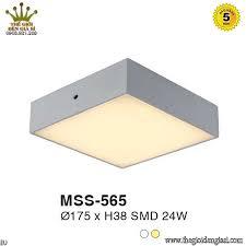 Đèn Led Ốp Trần Nổi Euroto MSS565 ɸ175