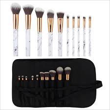 makeup brushes kit marble eyeshadow