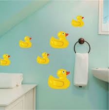 Rubber Duck Ducky Vinyl Vynil Trendy Removable Decal Sticker Wall Art Sayings 4 For Sale Online Ebay
