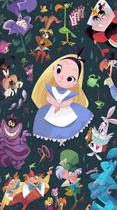 alice in wonderland wallpaper iphone