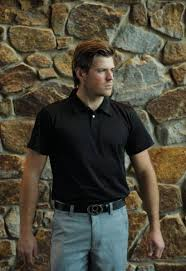 Byron Reynolds wearing Ready2Golf Fashion Polo & Fashion Pants   Polo  fashion, Fashion pants, Mens polo shirts