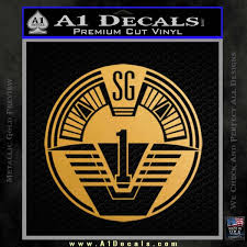 Star Gate Sg1 Logo Decal Sticker A1 Decals