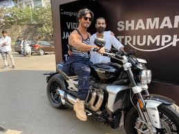 secretary gifts him motorbike