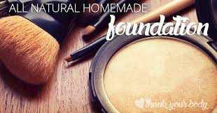 all natural homemade foundation powder