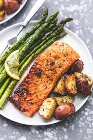 Sheet Pan Salmon and Asparagus with ...