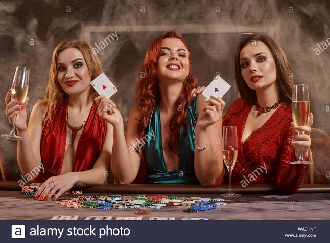 Ladies at casino