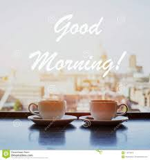 good morning card stock image image of