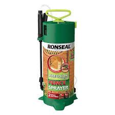 Ronseal Pump Sprayer Paint Sprayer For Wood Fences