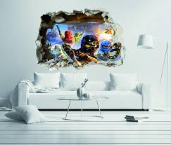 Lego Ninjago Team Wall Decal Egraphicstore