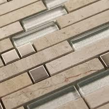 marble tiles backsplash deco mesh