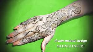 mehndi designs arabic stylish