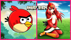 Angry Birds As Girl - Angry Birds Human Version 📷 Video