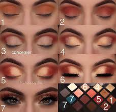 simple step by makeup tutorial