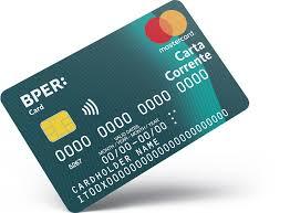 BPER Card Carta Corrente