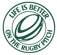 Amazon Com Custom Vinyl Life Is Better On The Rugby Pitch Decal Rugby Football Bumper Sticker For Tumblers Laptops Car Windows Personalized Sports Gift Handmade