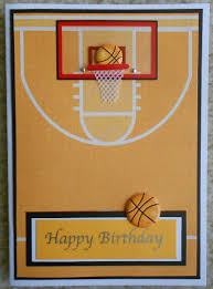 Handmade Basketball Card Tarjetas Bonitas Tarjetas Manualidades