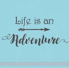 Arrow Art With Inspiring Wall Decal Quote Life Is An Adventure Vinyl Lettering Inspirational Wall Quotes Wall Quotes Decals Life Quotes