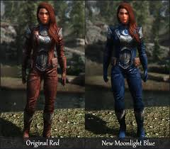 recolors at skyrim special edition
