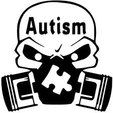 Autism Adhd Skull Gas Mask Decal Car Truck Vinyl Sticker Cars Trucks Van Walls Laptop Vinyl Decals Stickers For Cars Waterproof Car Windscreen Stickers Rear Window Car Body Decal Bumper Fuel Tank