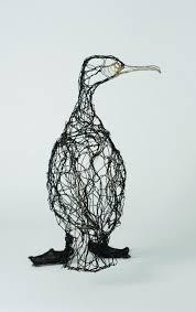 Celia Smith | Wire art sculpture, Wire art, Wire sculpture