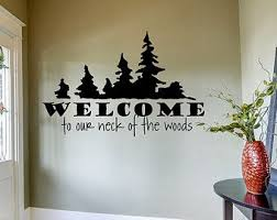 Hunting Wall Decal Hunt Hunting Decor Neck Of The Woods Rustic Wall Decals Deer Deer Decal Dee Rustic Wall Decals Hunting Decor Deer Wall Decal