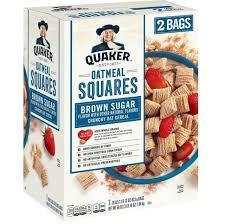 quaker oatmeal squares brown sugar 29