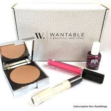wantable makeup review december 2016