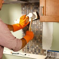 how to tile a diy backsplash family