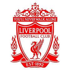 Liverpool Vinyl Wall Decal Sticker Football Wall Decals สโมสรฟ ตบอลล เวอร พ ล พร เม ยร ล ก ฟ ตบอล