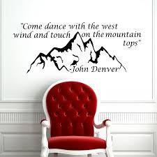 Shop The Eagle And The Hawk John Denver Lyrics Vinyl Wall Decal Overstock 8569323