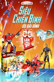 Banner sản phẩm đồ chơi chiến binh dành cho các bé trai trong 2020 ...