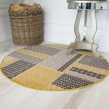 circle dining room rugs small large