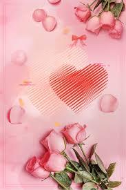 الوردي وردة رومانسية 520 الورود الطازجة خلفية صورة الخلفية