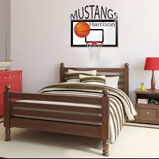 Basketball Decal Personalized Basketball Decal Wall Decal Removable Decal Basketball Room Decal Locker Room Decal Basketball Decor