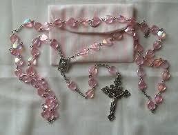 acrylic rosary 8mm catholic rosary