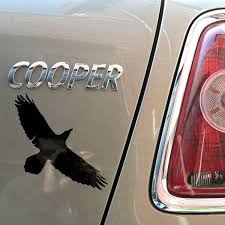 Raven Sticker Gloss Vinyl Car Or Bike Sticker Decal Odin Asatru Norse Wish