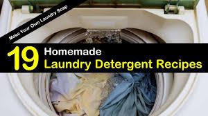 19 brilliant diy laundry detergent recipes