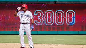 Adrian Beltre doubles, becomes 31st player to reach 3,000 hits ...
