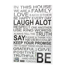 Shop Bedroom Pvc English Proverbs Poetry Print Self Adhesive Decor Wall Sticker Black On Sale Overstock 28886408