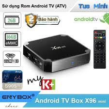 Android TV Box X96 mini 2G ram và 16G bộ nhớ trong - BH2 năm ...