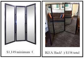 the best tri fold ikea mirror