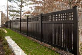 Grand Illusions Color Vinyl Fence Color Spectrum And Wood Grain Vinyl Fence