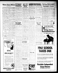 The Rockdale Reporter and Messenger (Rockdale, Tex.), Vol. 89, No. 52, Ed.  1 Thursday, January 4, 1962 - Page 5 of 19 - The Portal to Texas History