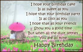 happy birthday poem for crush best happy birthday wishes
