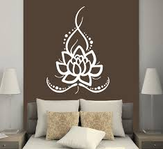Removable Home Wall Stickers Vinyl Decals Yoga Lotus Indian Buddha Stickers Mural Room Decals Cw 38 Vinyl Decal Sticker Muralwall Sticker Aliexpress