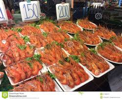 Seafood Store Stock Photo 57588421 ...